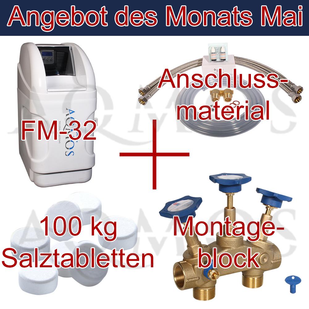 wasserenth rtungsanlage entkalkungsanlage aqmos fm 32 wasserenth rter enth rter ebay. Black Bedroom Furniture Sets. Home Design Ideas