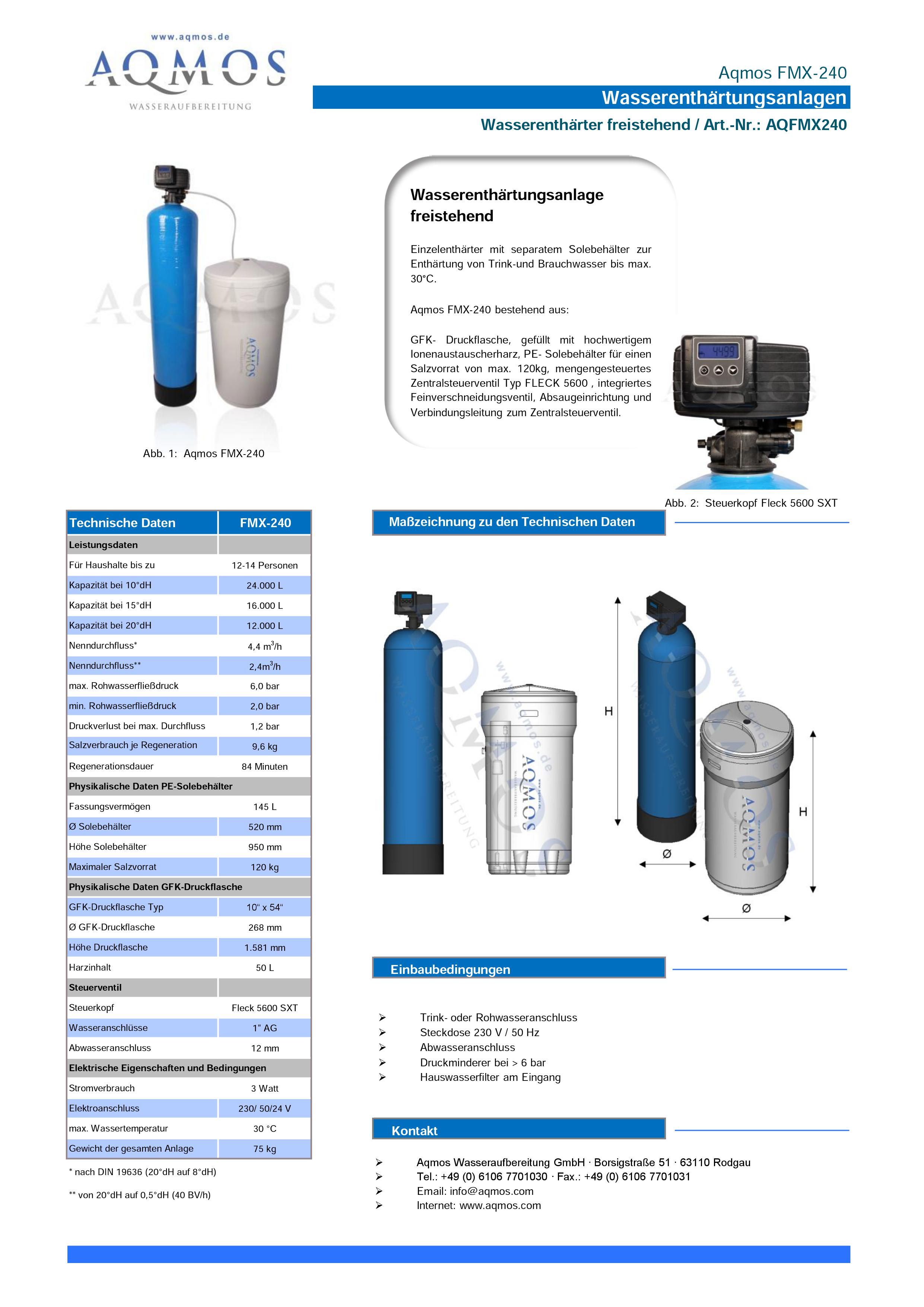 FMX-240-Datenblatt