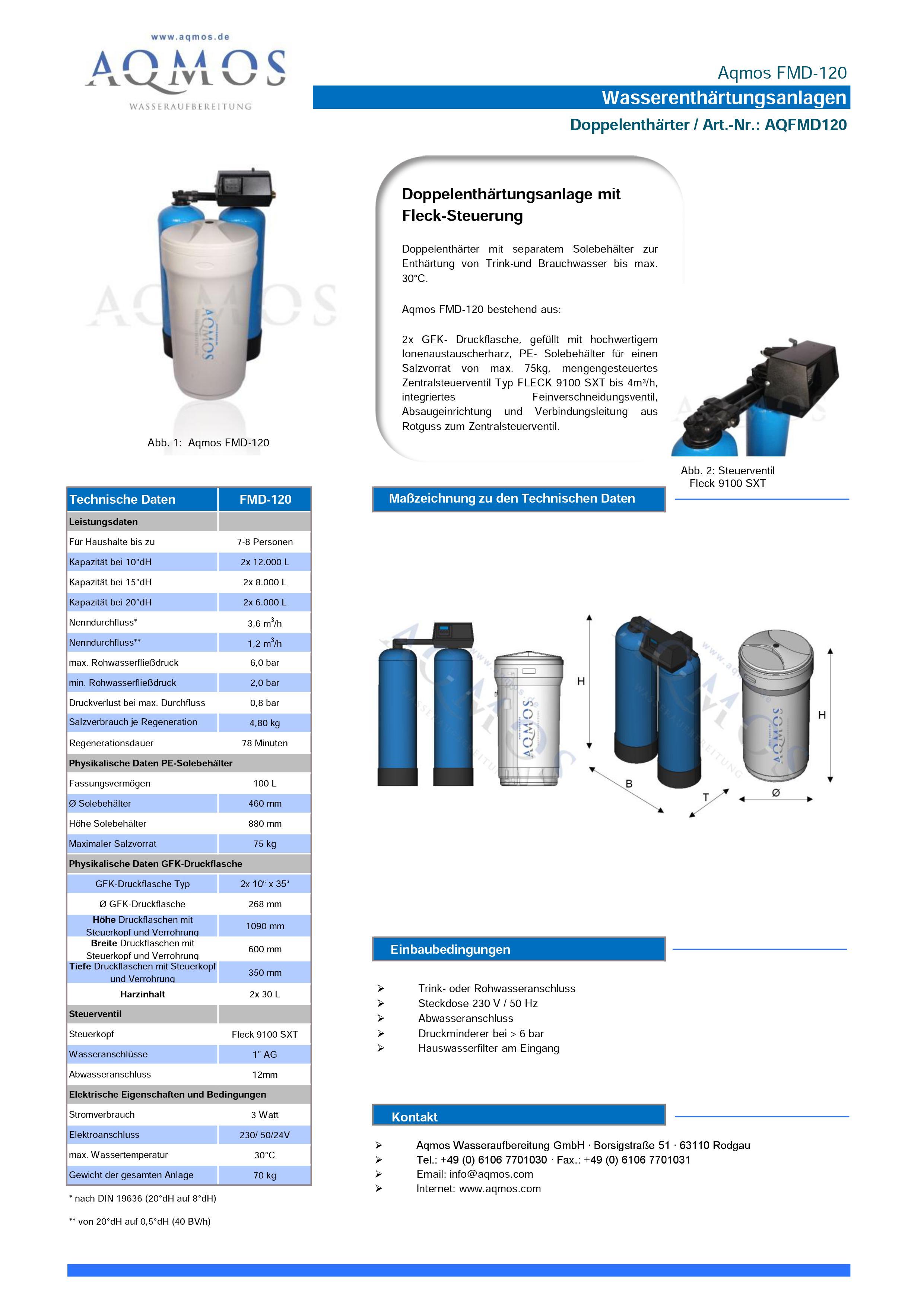 FMD-120-Datenblatt