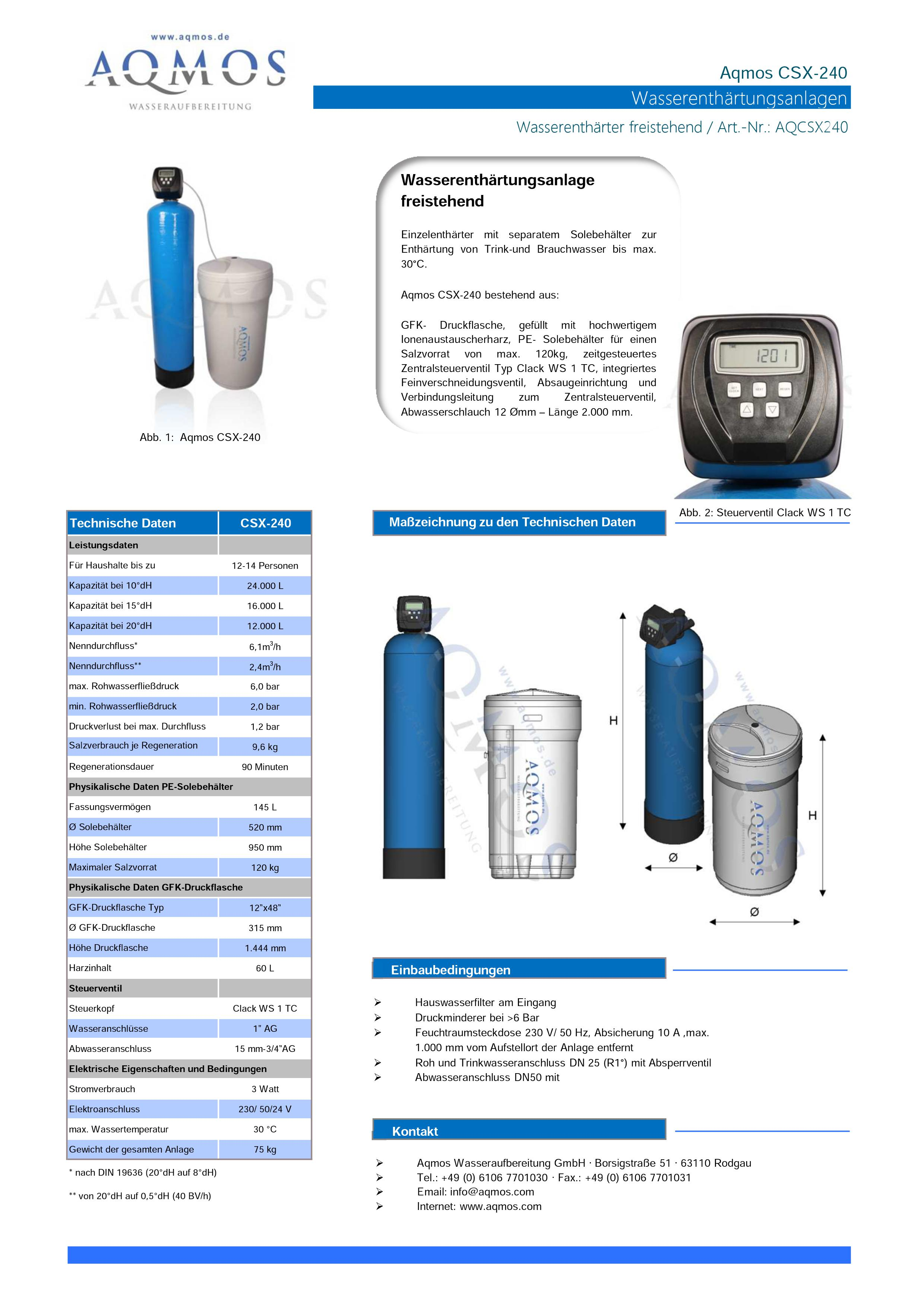 CSX-240-Datenblatt
