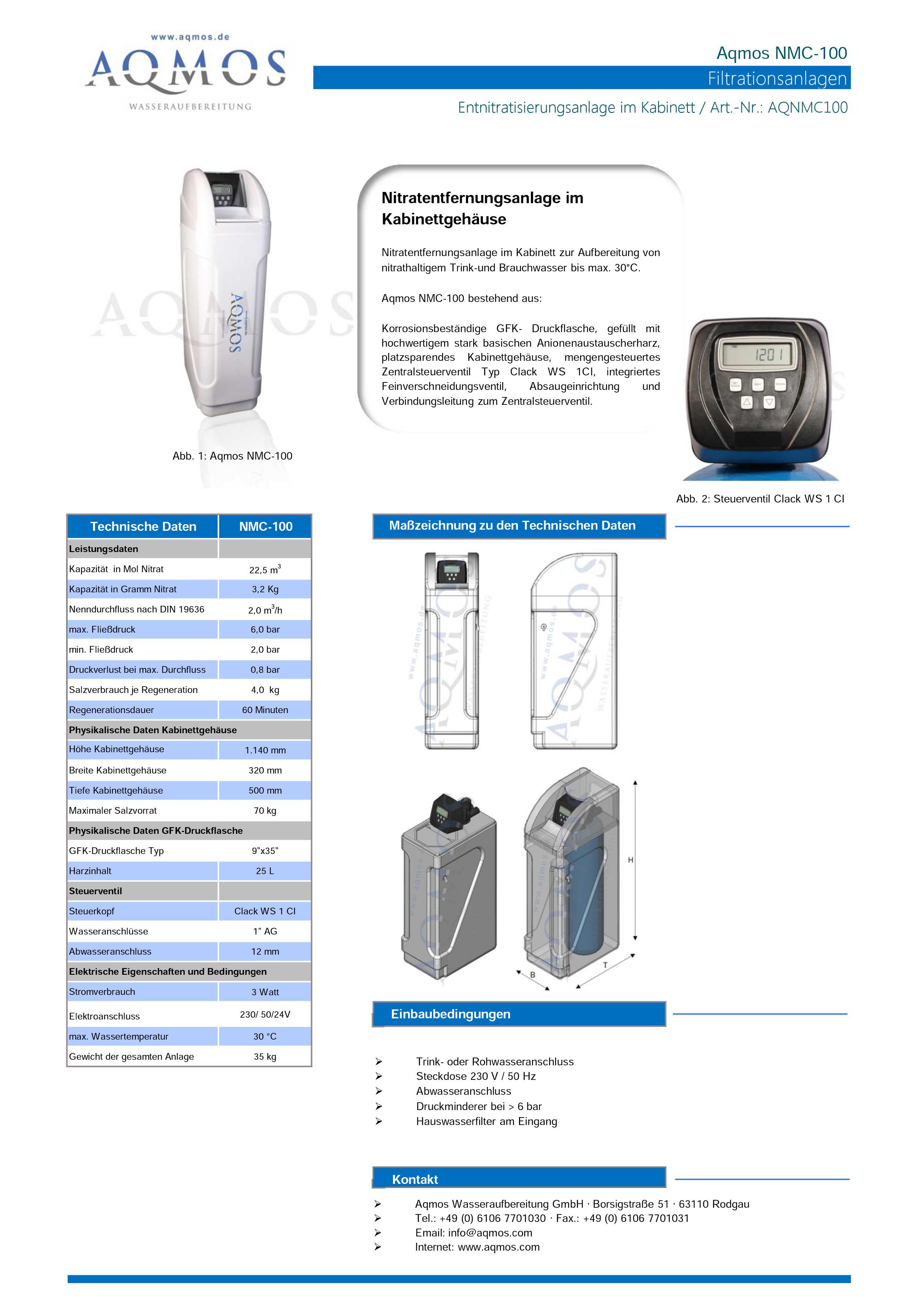 NMC-100-Datenblatt
