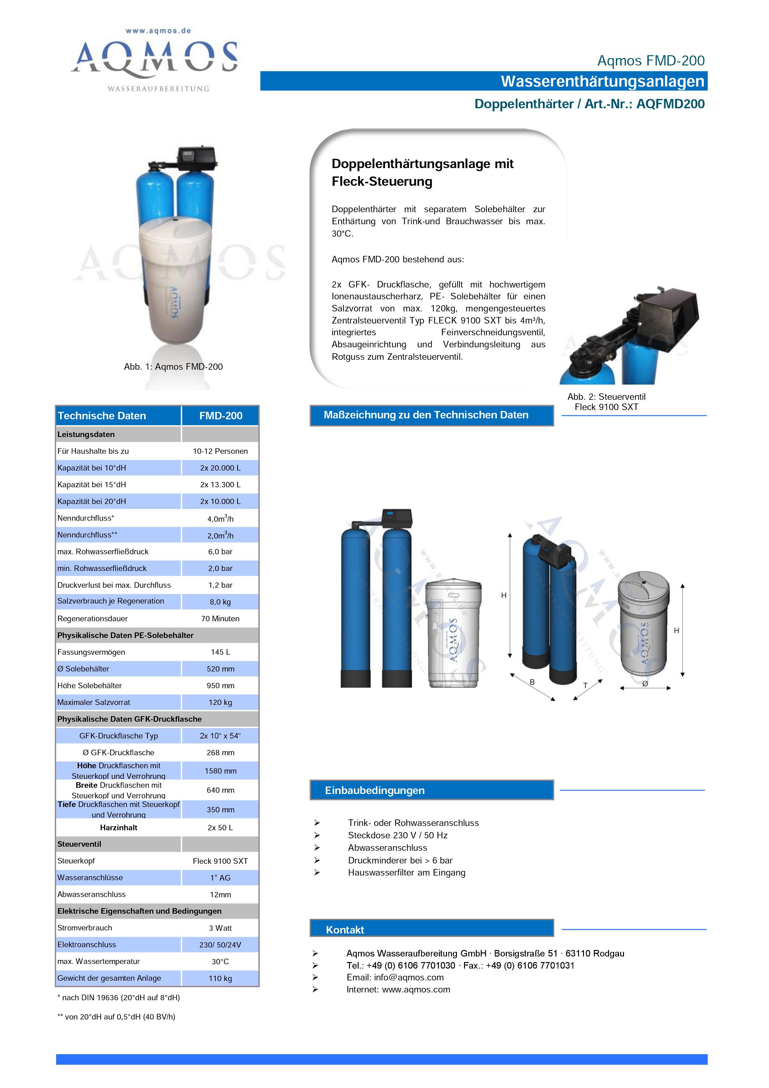 FMD-200-Datenblatt