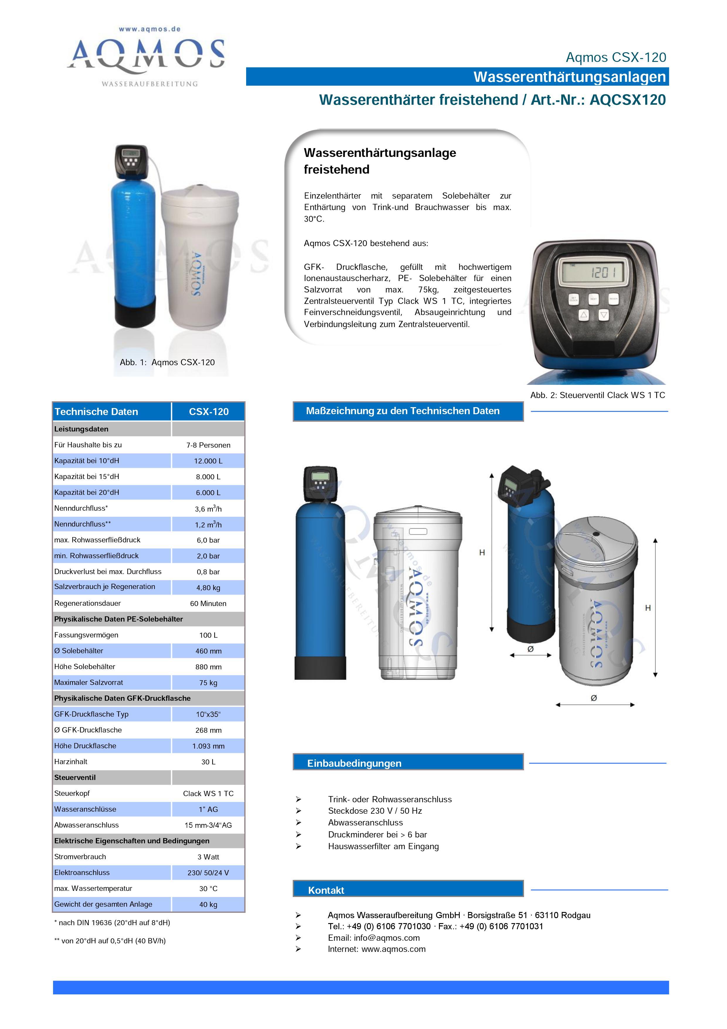 CSX-120-Datenblatt