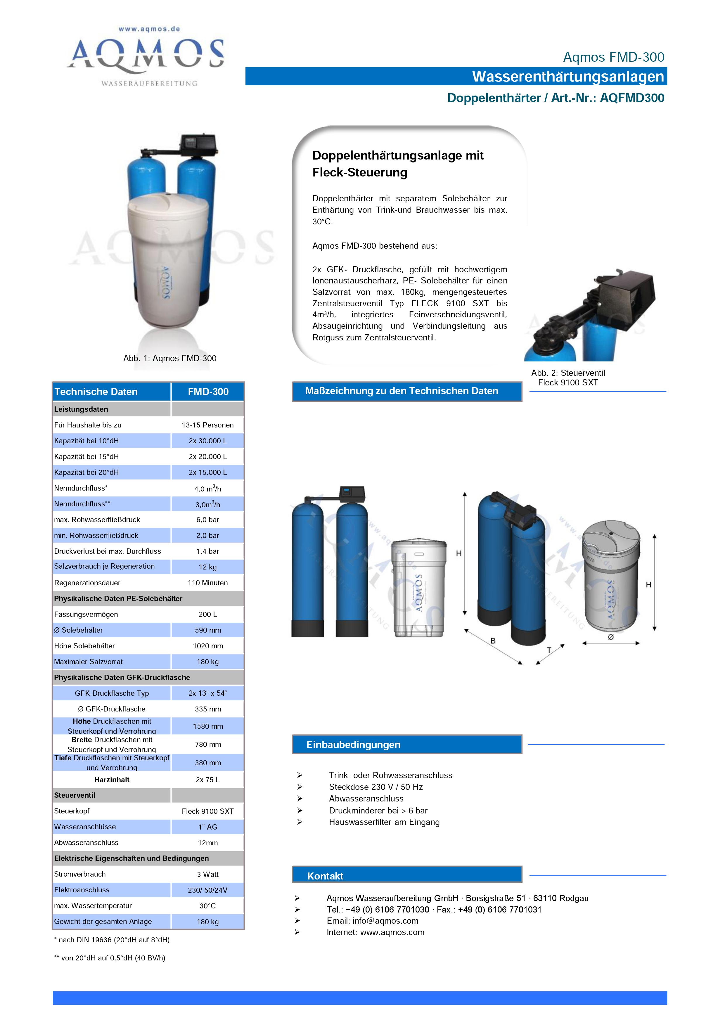 FMD-300-Datenblatt