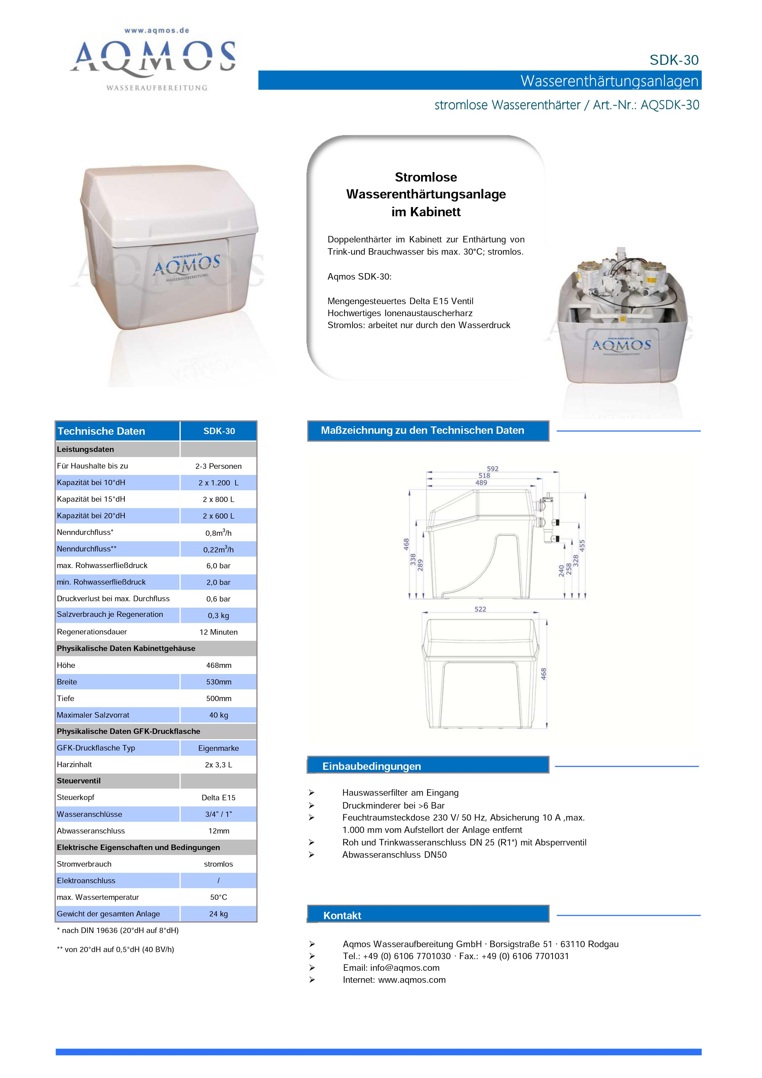 SDK-30-Datenblatt