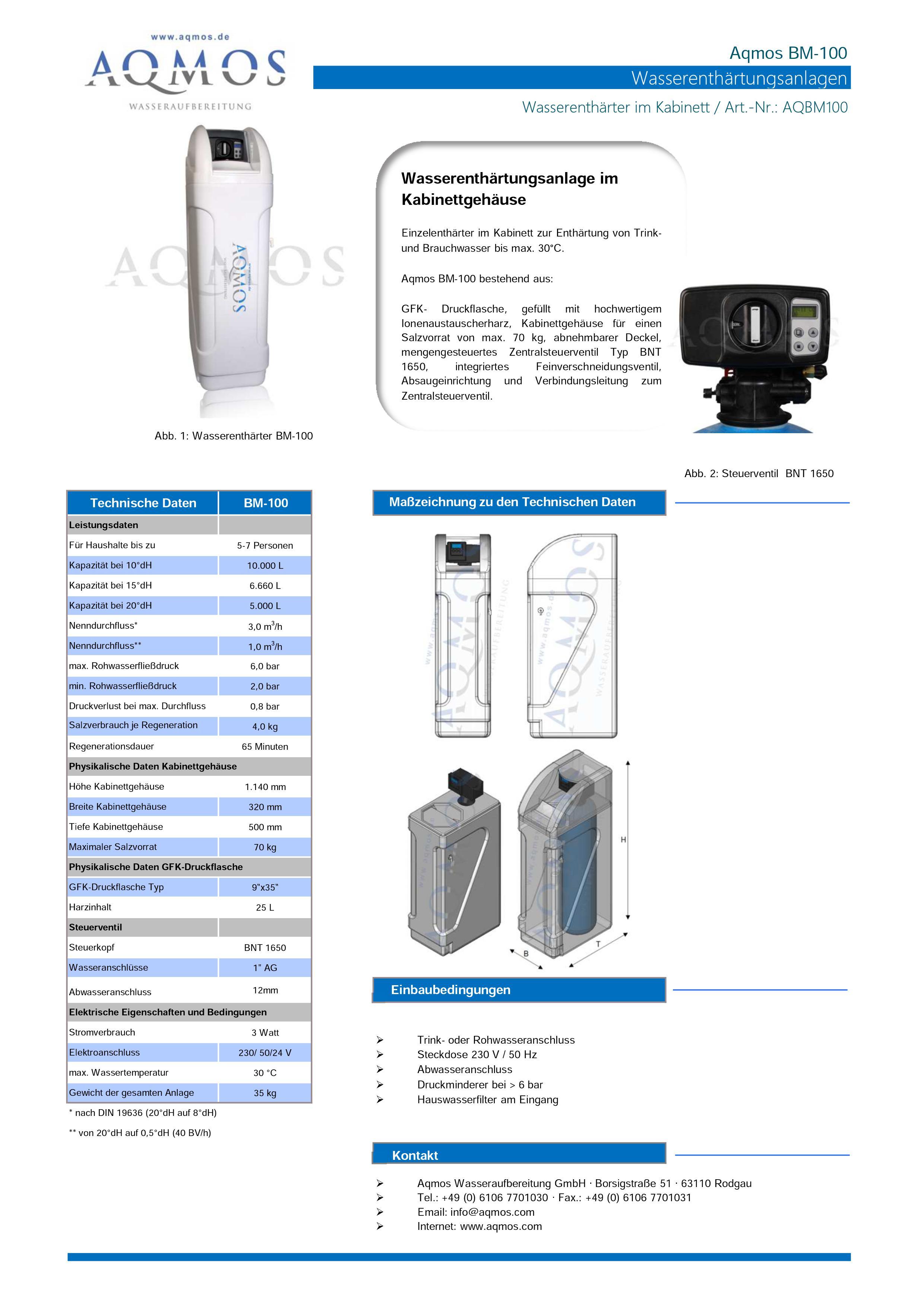 Datenblatt-BM-100