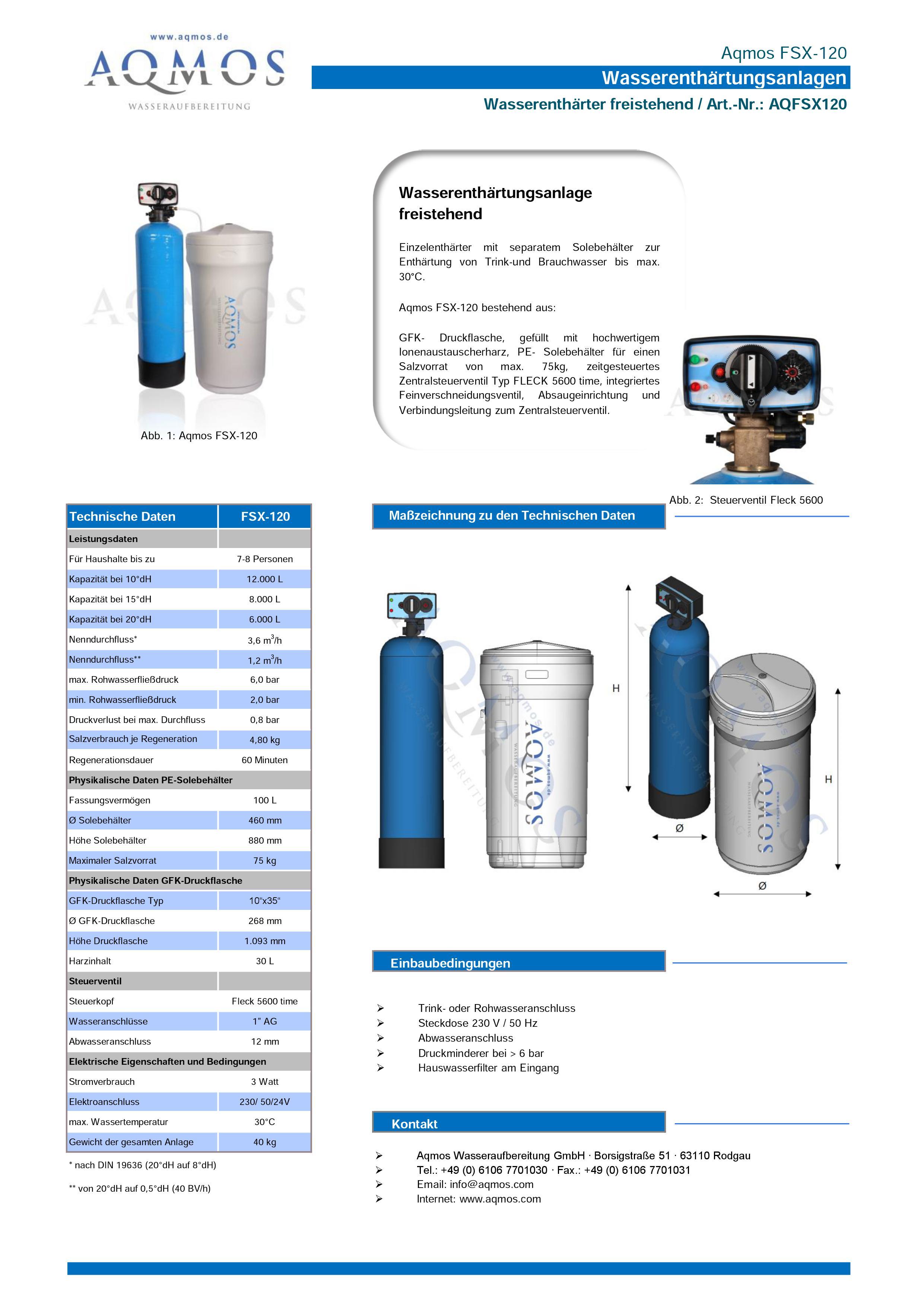 FSX-120-Datenblatt