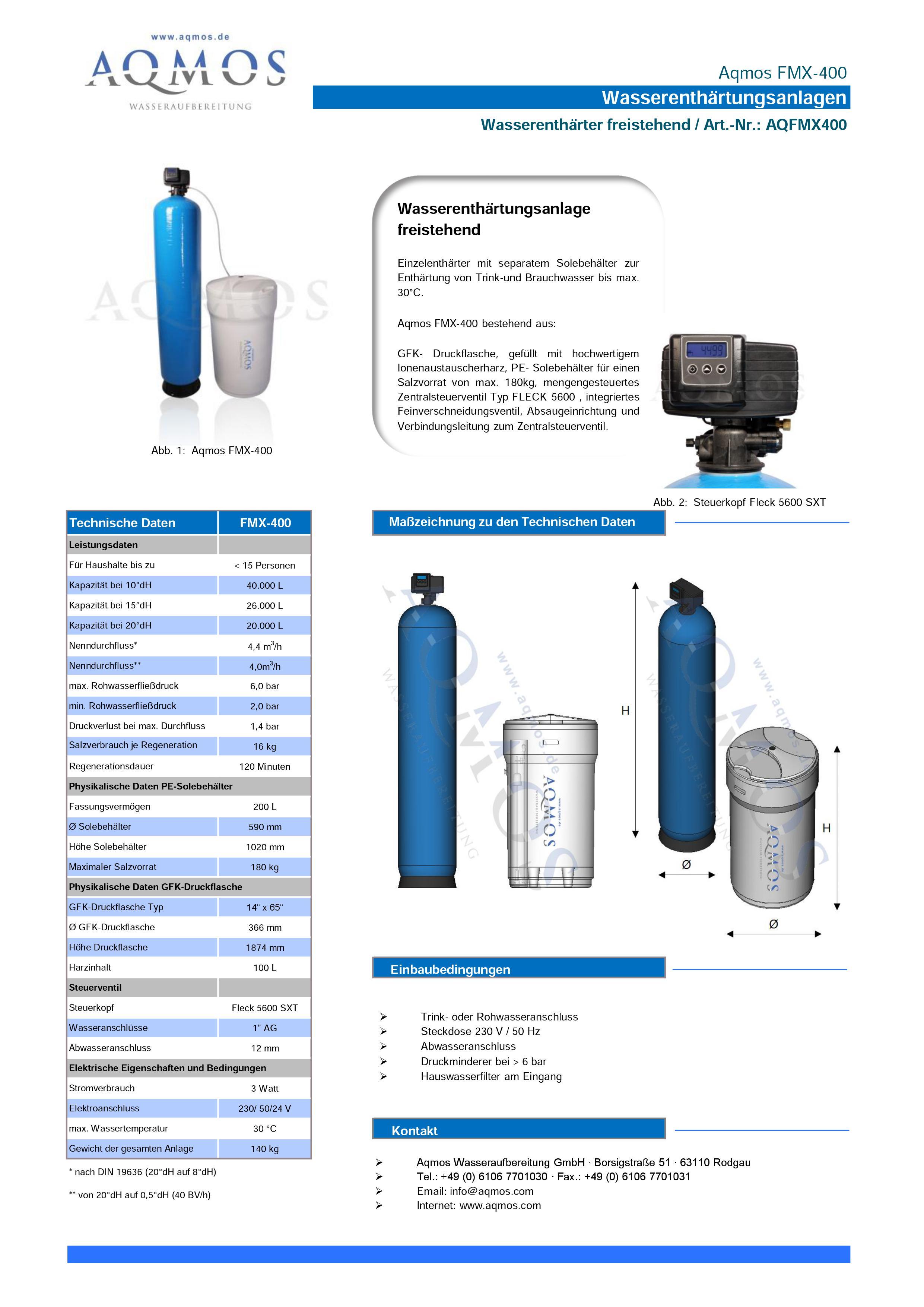 FMX-400-Datenblatt
