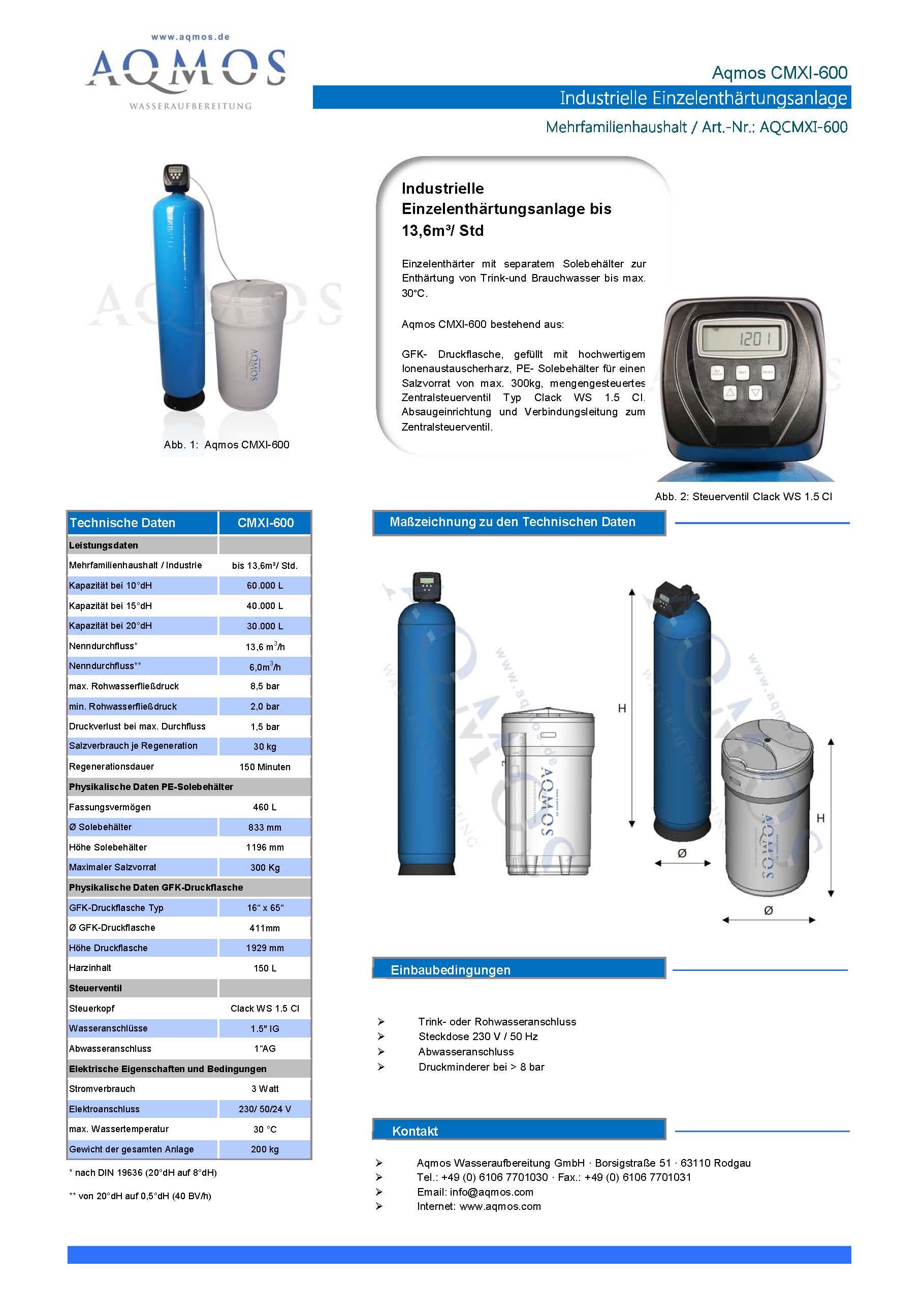 CMXI-600-Datenblatt