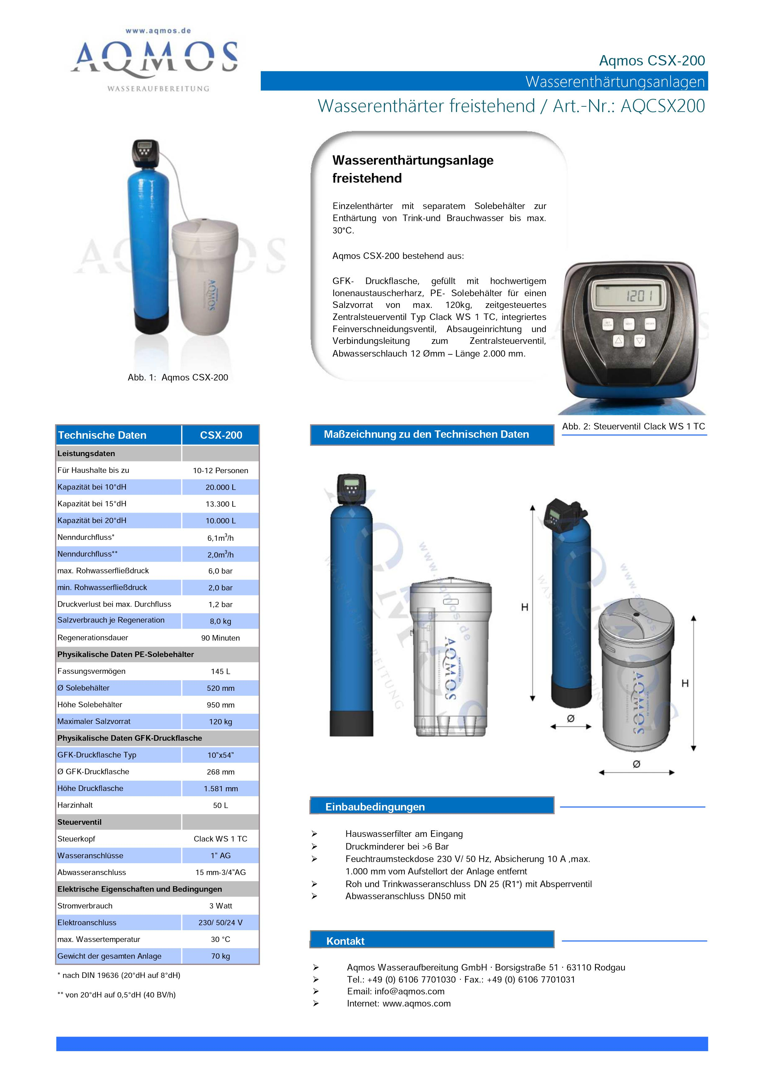 CSX-200-Datenblatt