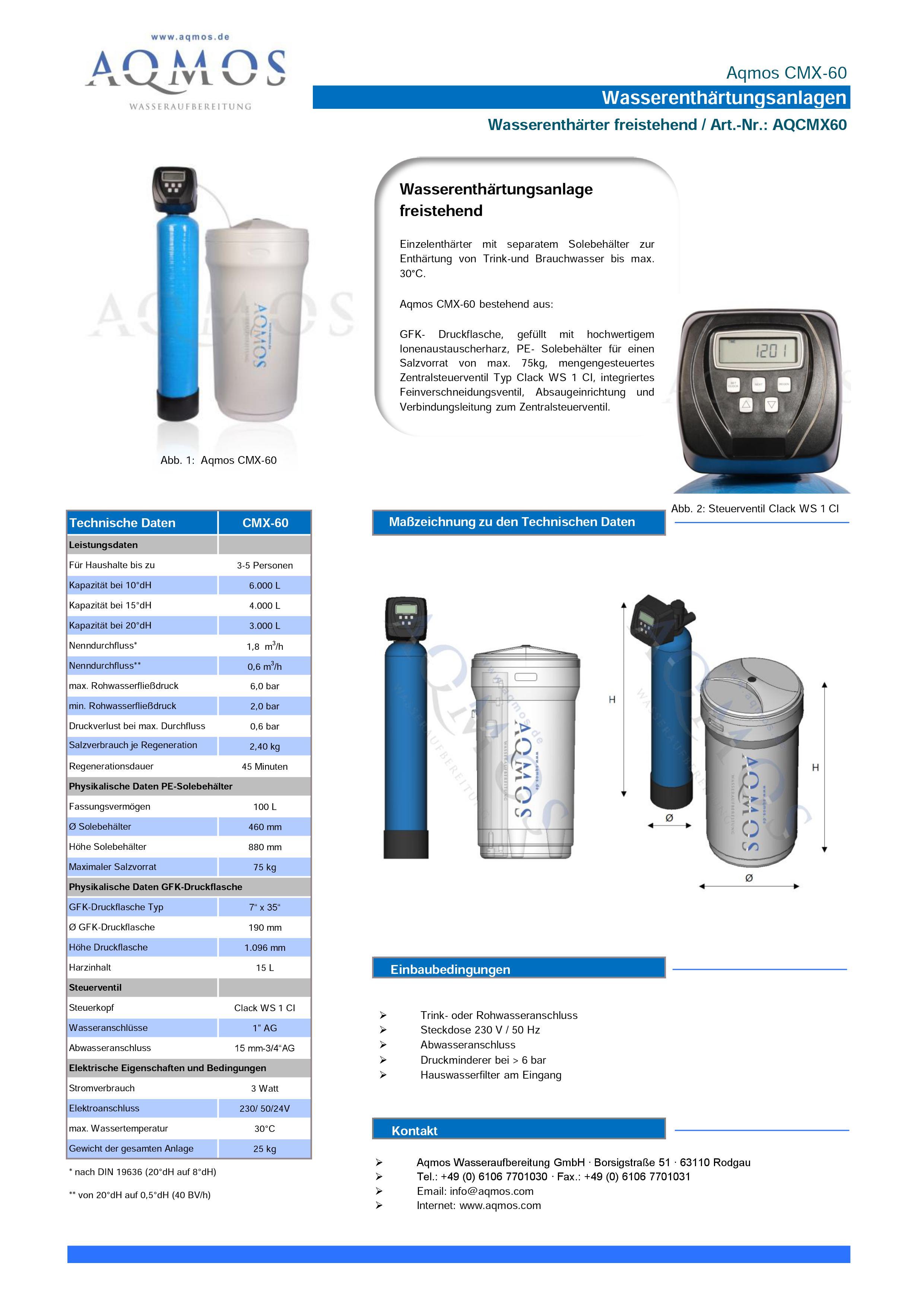 CMX-60-Datenblatt