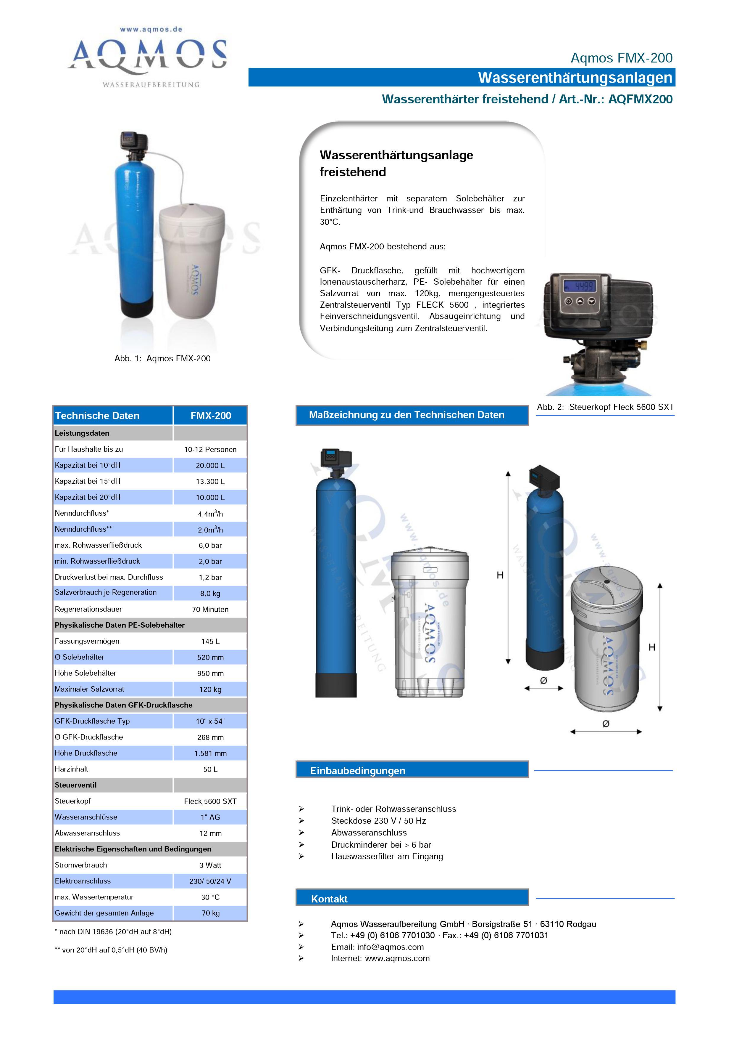 FMX-200-Datenblatt
