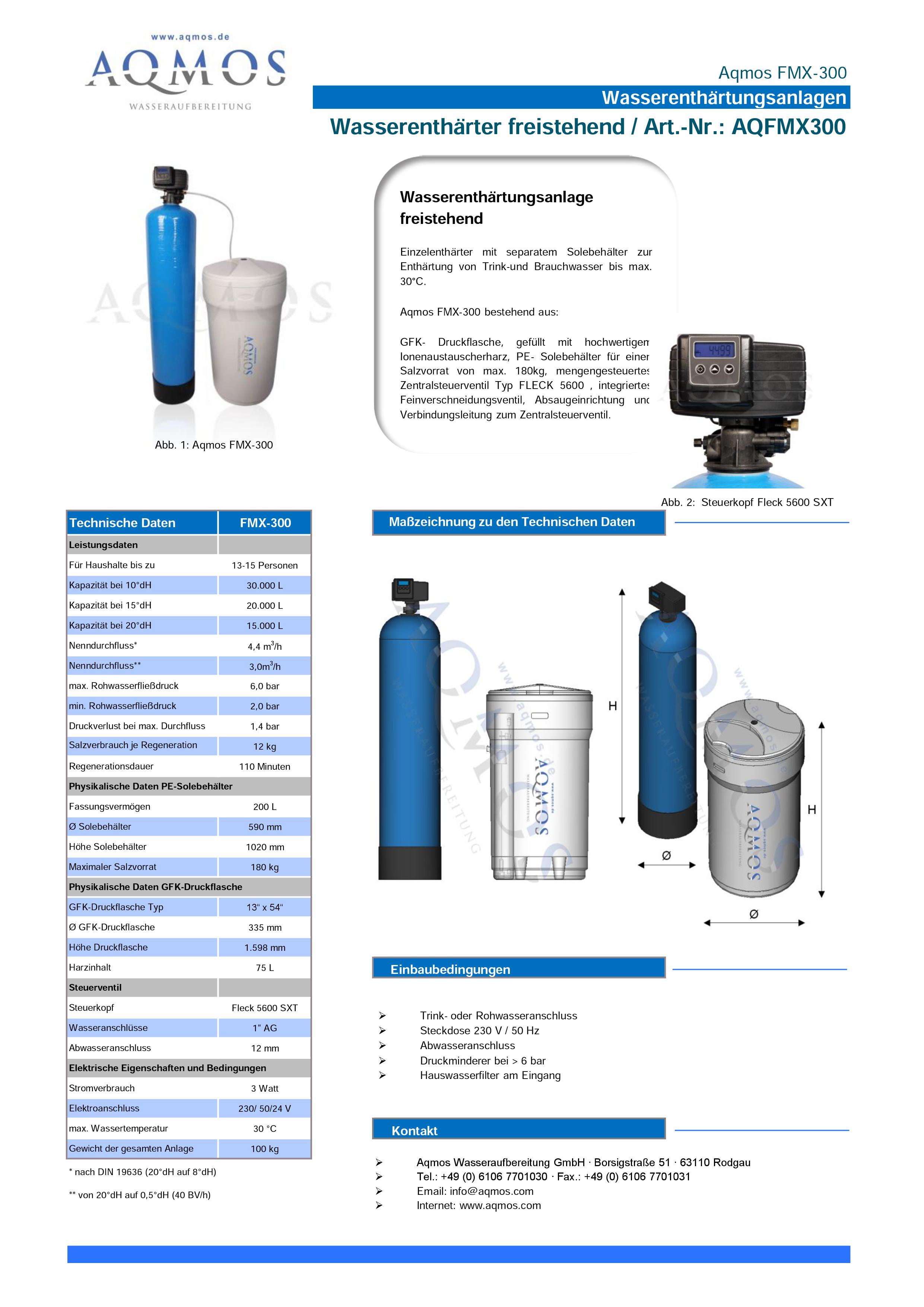 FMX-300-Datenblatt